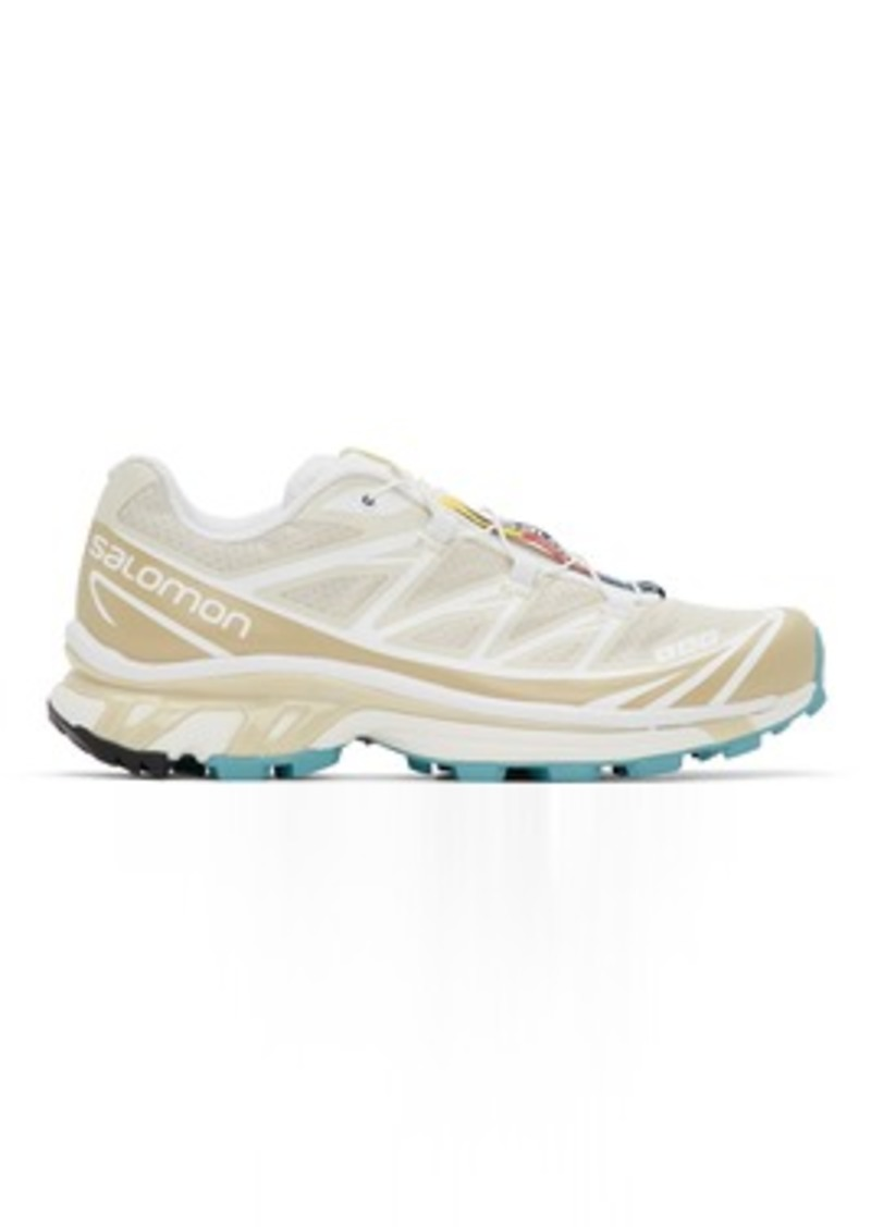 Salomon Beige Limited Edition XT-6 ADV Sneakers