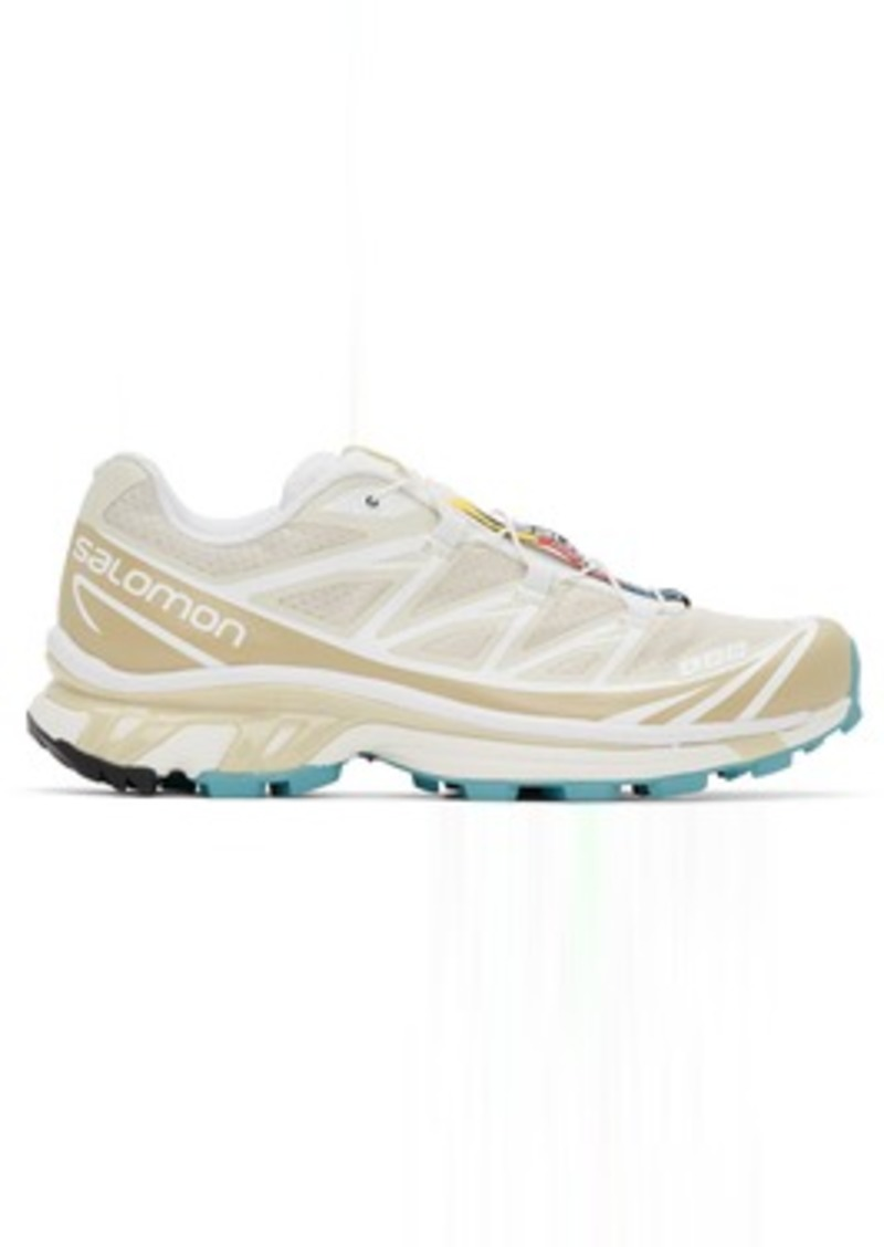 Salomon Beige Limited Edition XT-6 ADV Sneakers