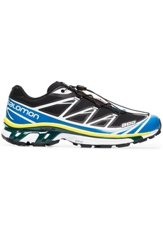Salomon black, yellow and blue XT-6 ADV sneakers