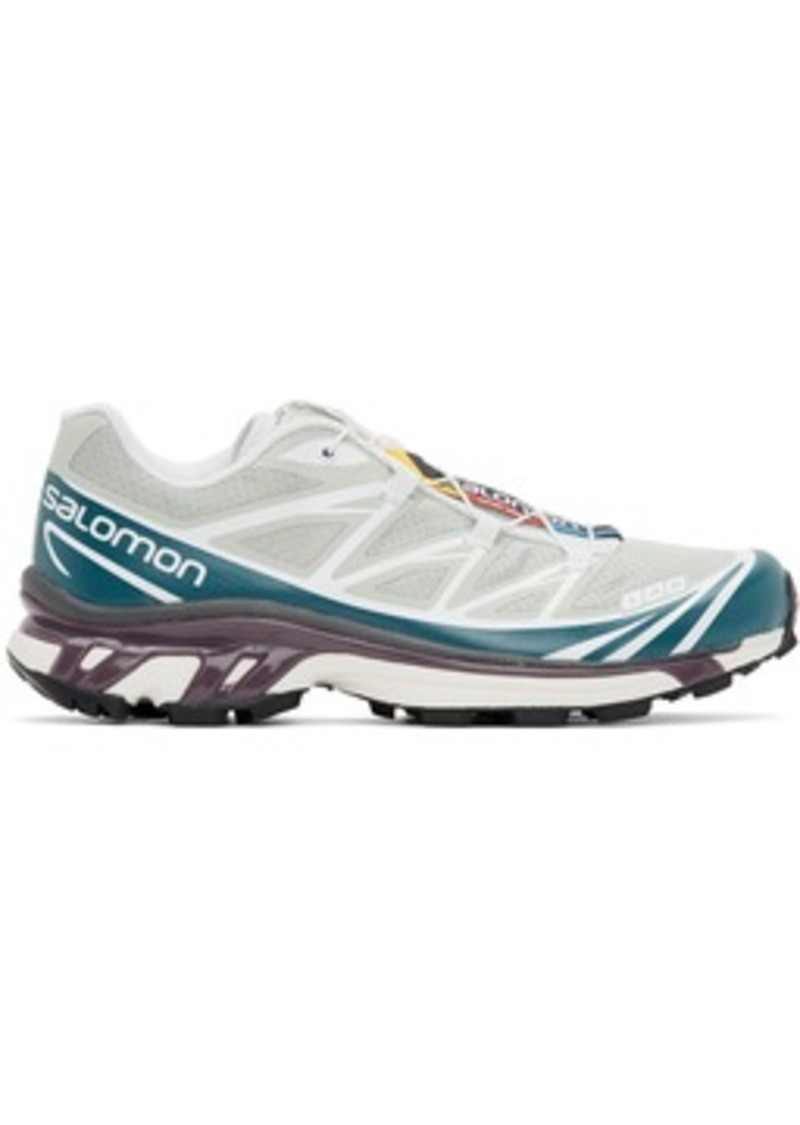 Salomon Green & Blue Limited Edition XT-6 ADV Sneakers