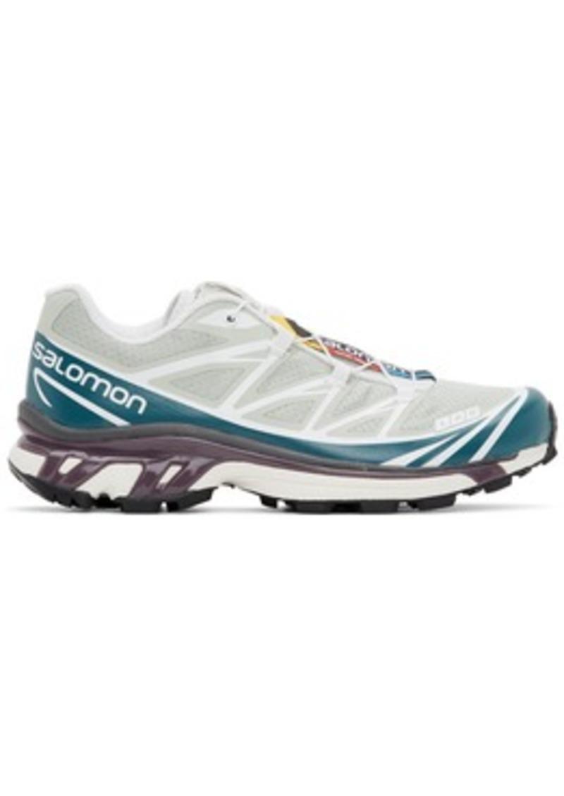 Salomon Green & Blue Limited Edition XT-6 ADV Sneakers