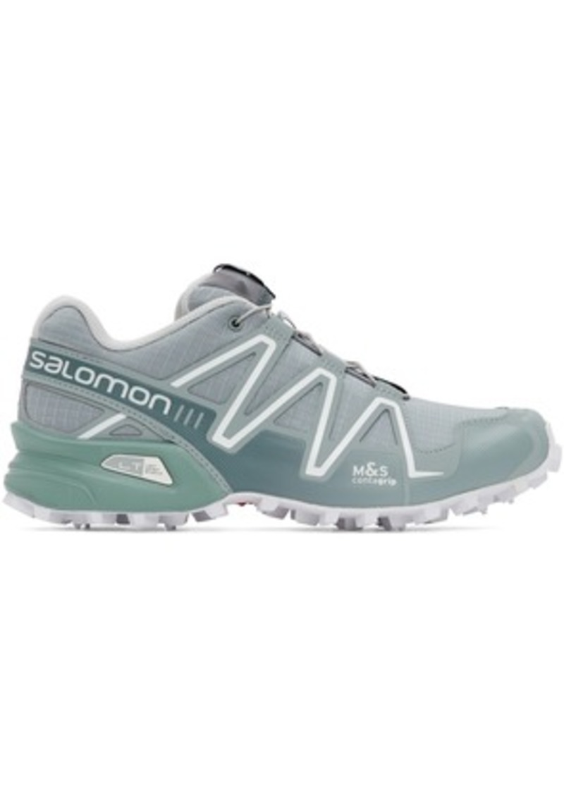 Salomon Grey Limited Edition Speedcross 3 ADV Sneakers