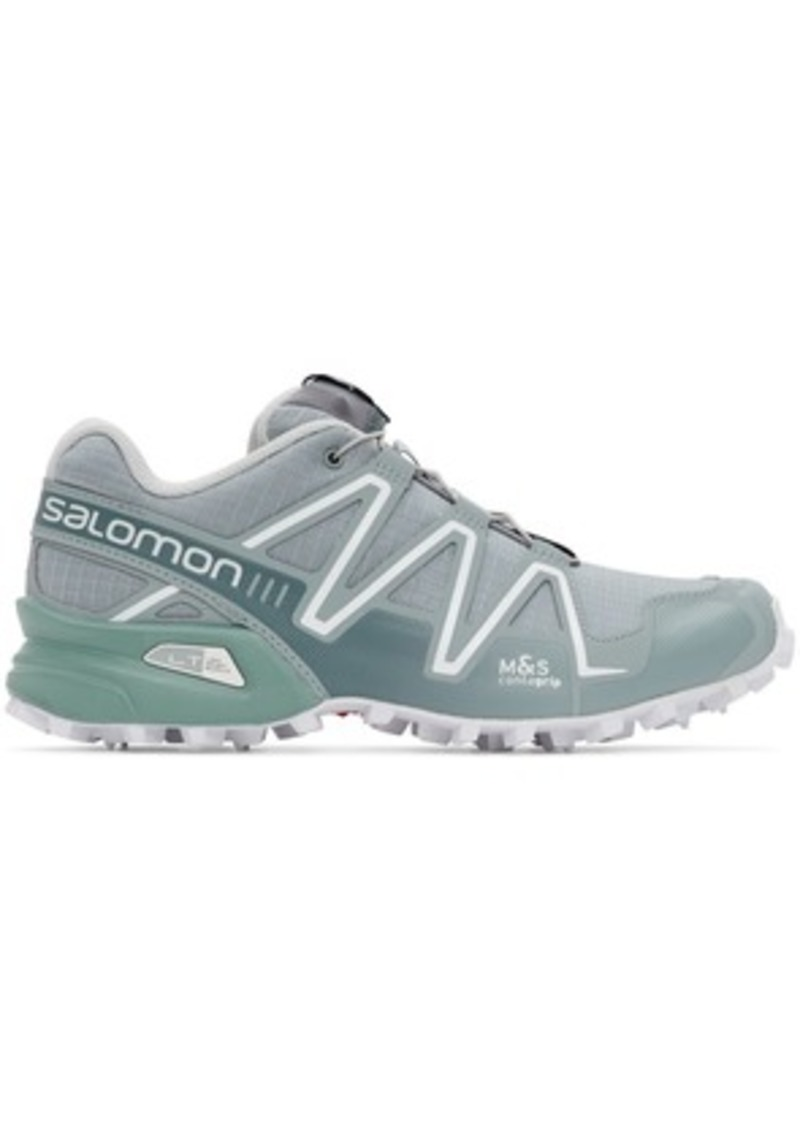 Salomon Grey Limited Edition Speedcross 3 ADV Sneakers