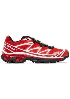 Salomon Red S/Lab XT-6 Softground ADV Sneakers