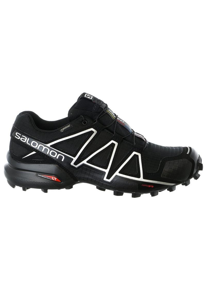 Salomon Men's Speedcross 4 GTX Trail Running Shoes Runner Black/Black/SILVER METALLIC-X 9