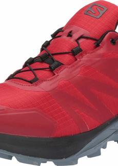 Salomon Men's Supercross GTX Trail Running Shoes Barbados Cherry/Black/FLINT STONE