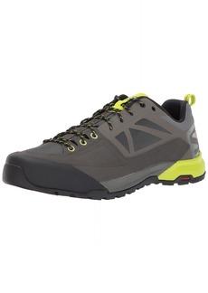 Salomon Men's X ALP SPRY Hiking Shoe Castor Gray/Beluga/Lime Punch
