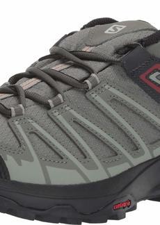 Salomon Men's X Crest GTX Hiking Shoes Castor Gray/SHADOW/Bossa Nova