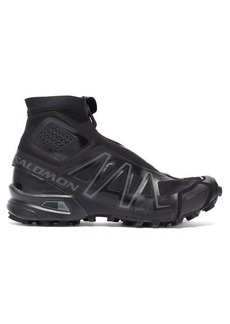 Salomon Snowcross Advanced technical-jersey boots