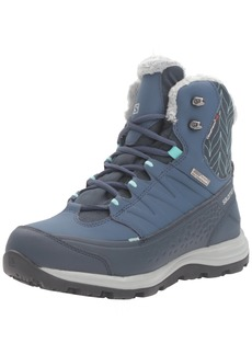 Salomon Women's Kaina Mid CS Waterproof 2-W Snow Boot  5 D US