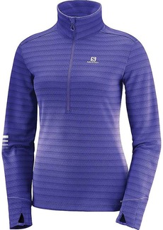 Salomon Women's Lightning Half Zip Mid Top
