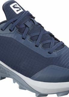 Salomon Women's Alphacross GTX Trail Running Shoes Sargasso Sea/Pearl Blue/FLINT STONE 10