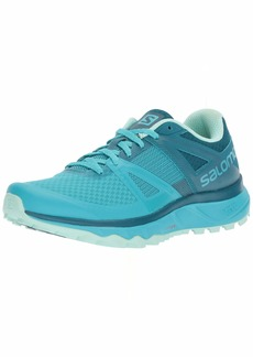 Salomon Women's TRAILSTER W Trail Running Shoe Bluebird/deep Lagoon/Beach Glass 7.5 B US