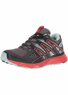 Salomon Women's X-Mission 3 W Trail Running Shoe Magnet/Black/Poppy red