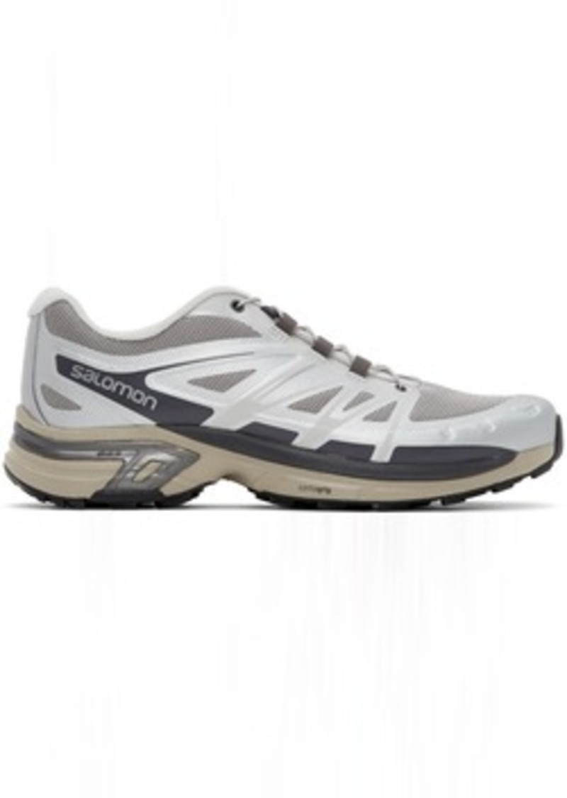 Salomon Silver Limited Edition XT-Wings 2 ADV Sneakers