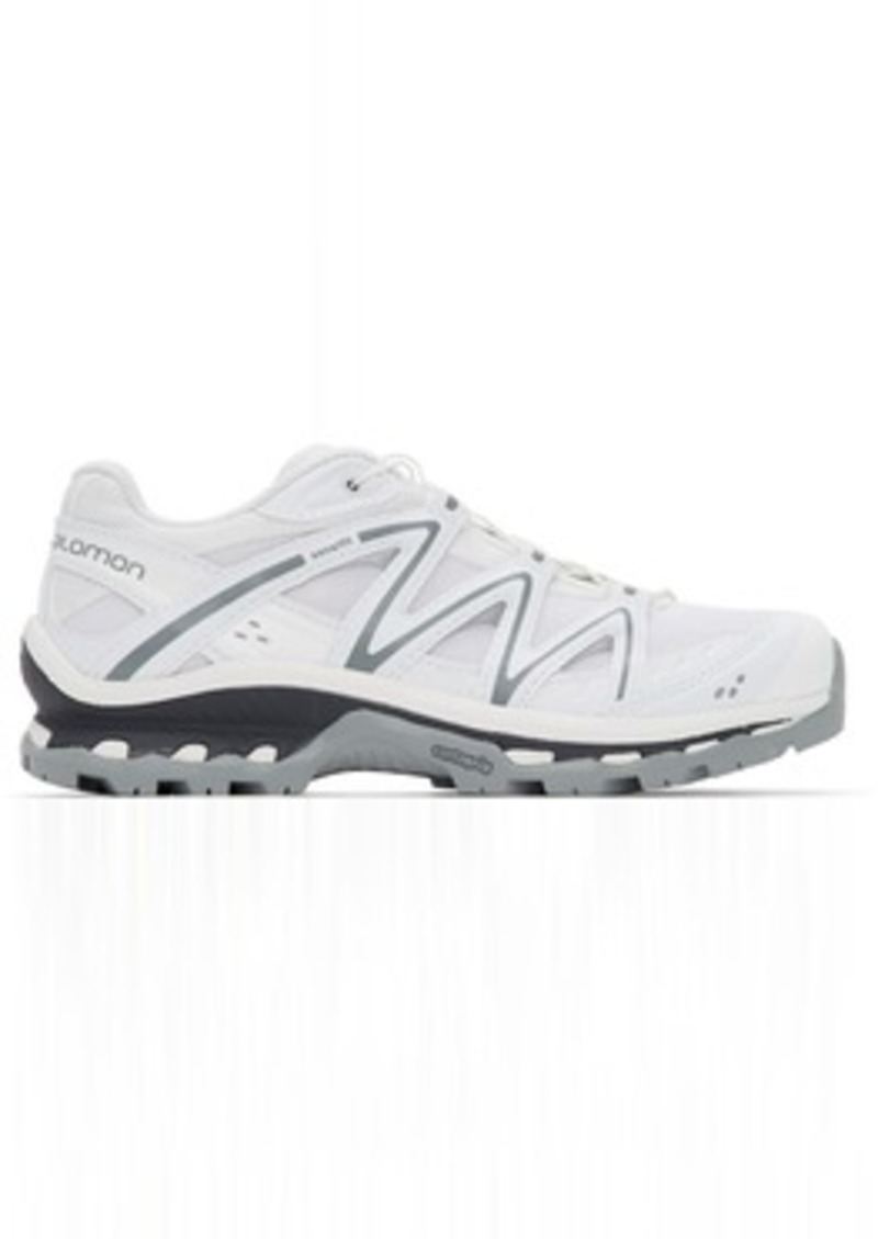 Salomon White Limited Edition XT-Quest Low ADV Sneakers