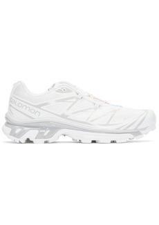 Salomon White S/Lab XT-6 Softground ADV Sneakers
