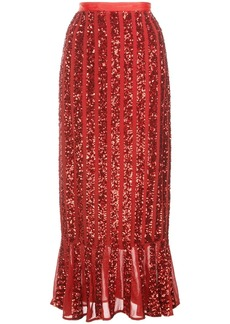 Saloni Aidan sequinned skirt