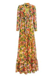 Saloni Alexia Azalea Maxi Dress