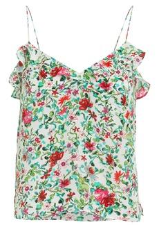 Saloni Ani Floral Silk Camisole