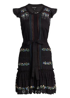 Saloni Bea Pintuck Dresses