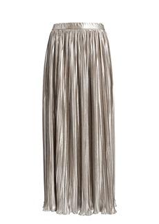 Saloni Camille Pleated Skirt