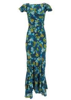 Saloni Daphne Silk Dress