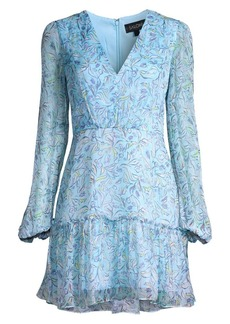 Saloni Devon Silk Mini Dress