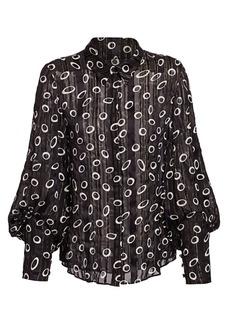Saloni Joana Dot-Print Shirt