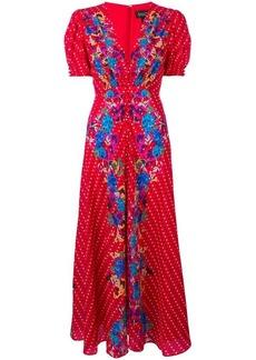Saloni Lea maxi dress