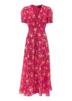 Saloni Lea Midi Dress