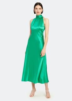 Saloni Michelle Midi B Silk Dress