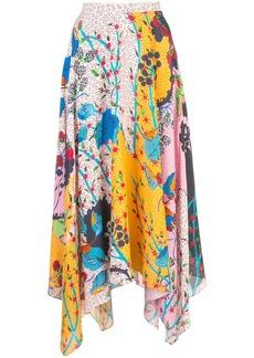 Saloni multi-pattern skirt