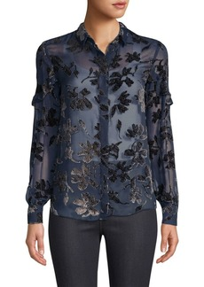 Saloni Myra Sheer Blouse