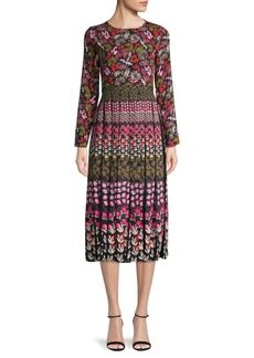 Saloni Nuri Print Dress
