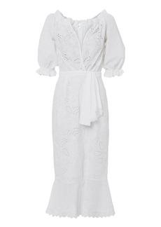 Saloni Olivia Midi Dress