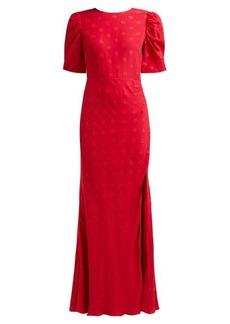 Saloni Annie B silk dress