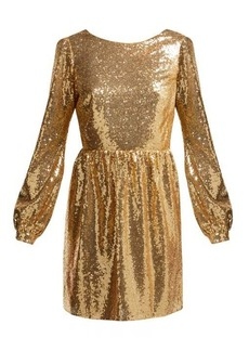 Saloni Camille sequinned mini dress