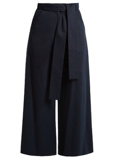 Saloni Elma stretch-cotton culottes