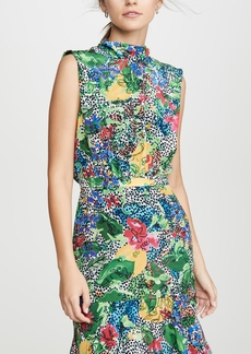 Saloni Fleur Short Dress
