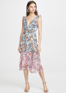 Saloni Holly Midi Dress