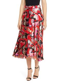 SALONI Judith Fil Coupé Midi Skirt