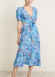 Saloni Lea Cutout Dress