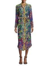 SALONI Molly Silk Dress