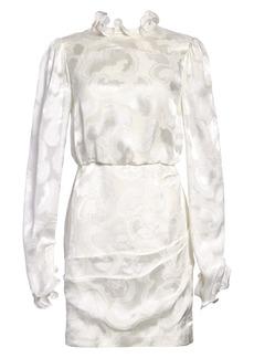 SALONI Rina Print Silk Blend Minidress