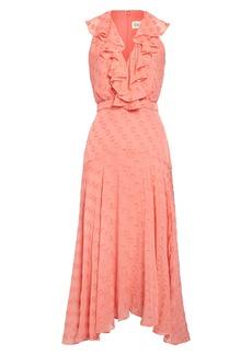 SALONI Rita Ruffle Dress