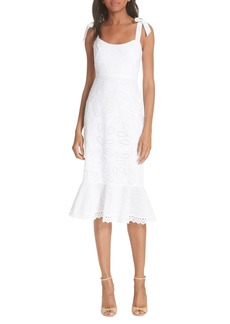 SALONI Rosie Eyelet Dress
