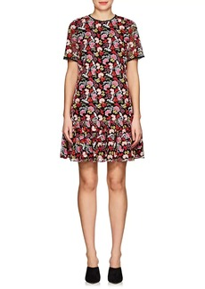 Saloni Women's Ophelia Floral-Embroidered Minidress