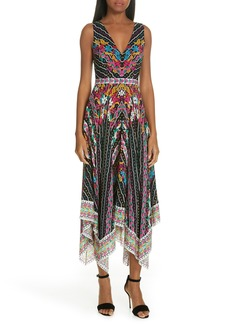 SALONI Zuri Floral Print Dress