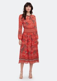 Saloni Thala Beaded Neckline Midi Dress - 2 - Also in: 4, 12, 0